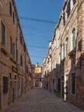 Calle de Venezia Foto de archivo libre de regalías