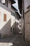 Calle de Venzone Fotos de archivo libres de regalías