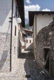 Calle de Venzone Fotografía de archivo