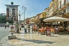 Calle de Verona fotos de archivo libres de regalías