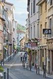 Calle de Vienne foto de archivo libre de regalías