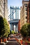 Calle de Washington, Brooklyn, Nueva York Imagen de archivo