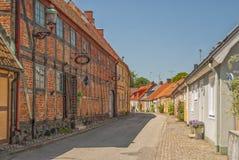 Calle de Ystad Fotos de archivo