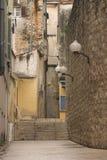Calle de Zadar Imágenes de archivo libres de regalías