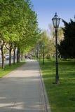 Calle de Zagreb fotos de archivo