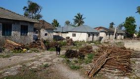 Calle de Zanzíbar, Tanzania Fotos de archivo libres de regalías