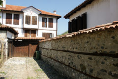 Calle de Zlatograd Imagen de archivo
