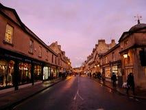 Calle del baño, BAÑO, INGLATERRA, Reino Unido imagenes de archivo