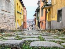 Calle del guijarro Fotografía de archivo libre de regalías