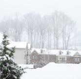 Calle del invierno Fotografía de archivo libre de regalías
