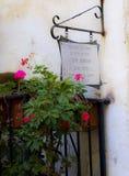 Calle del Jaffa viejo Fotos de archivo