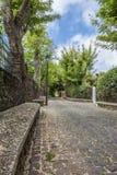 Calle del jardín Imagen de archivo libre de regalías