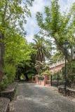 Calle del jardín Fotografía de archivo
