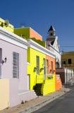 Calle del kaap de BO, Ciudad del Cabo Imagenes de archivo
