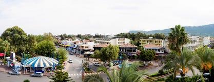 Calle del kemer, visión desde arriba, Turquía fotografía de archivo libre de regalías