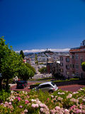 Calle del lombardo Imagen de archivo libre de regalías