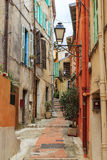 Calle del Menton viejo Foto de archivo