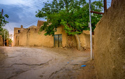 Calle del pueblo iraní imagen de archivo libre de regalías