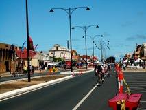 Calle del semáforo justa Fotos de archivo