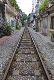 Calle del tren Imagenes de archivo