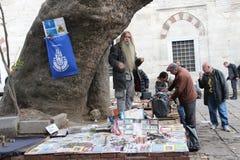 Calle del vendedor Imágenes de archivo libres de regalías