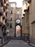 Calle dell'en di Reloj Fotografia Stock