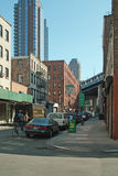 Calle DUMBO Brooklyn New York City de la perla Imagen de archivo