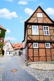 Calle en Alemania Fotografía de archivo libre de regalías