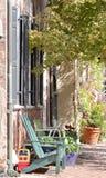 Calle en Alexandría, Virginia Imagenes de archivo
