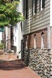 Calle en Alexandría, Virginia Foto de archivo