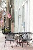 Calle en Alexandría, Virginia Fotos de archivo libres de regalías