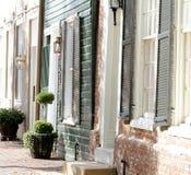 Calle en Alexandría, Virginia Foto de archivo libre de regalías