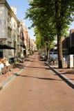 Calle en Amsterdam Fotos de archivo libres de regalías