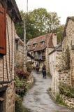 Calle en Aquitania imagen de archivo