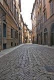 Calle en Bérgamo Imágenes de archivo libres de regalías
