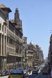 Calle en Barcelona céntrica Fotografía de archivo