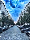Calle en Berlín imagenes de archivo