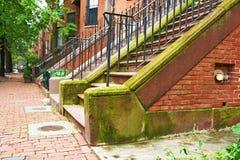 Calle en Boston Fotos de archivo