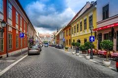 Calle en Buda Castle Imagen de archivo