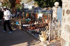 Calle en Bulawayo Zimbabwe Imágenes de archivo libres de regalías