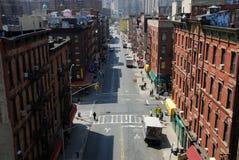 Calle en Chinatown, Nueva York Foto de archivo libre de regalías