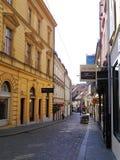 Calle en Croacia Foto de archivo libre de regalías