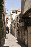Calle en Damasco viejo Fotos de archivo