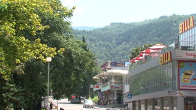 Calle en el Petrich, Bulgaria