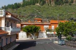 Calle en el pueblo Alfarero del Arguayo, Tenerife, Fotografía de archivo
