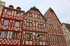 Calle en el Trier, Alemania imagen de archivo