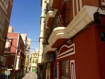 Calle en España Imagen de archivo