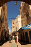 Calle en Essaouira Fotos de archivo