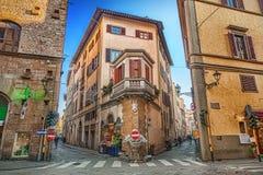Calle en Florencia, Italia Foto de archivo