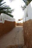 Calle en Ghadames, Libia Fotografía de archivo
